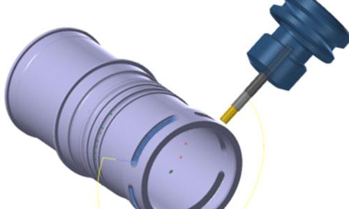 Mastercam-5軸-圓柱方式提刀