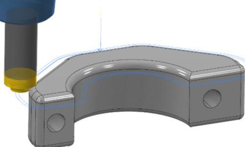 mastercam-2.5d-2D3D導圓角加工